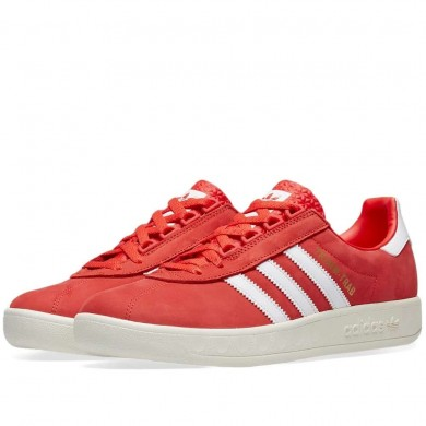 Adidas Trimm Trab Active Red, White & Gold
