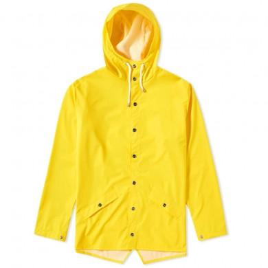 Rains Classic Jacket Yellow