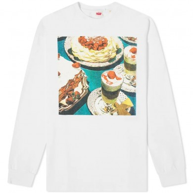 Levi's Vintage Clothing Happy Mondays Limited Edition 80's LS Graphic Tee Squirrel Multi-colored