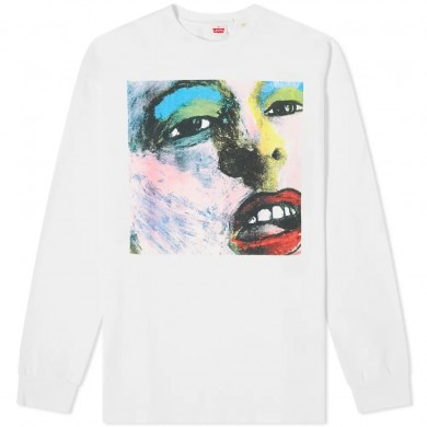 Levi's Vintage Clothing Happy Mondays Limited Edition 80's LS Graphic Tee Bummed Multi-colored