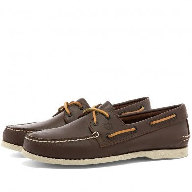 Sperry Topsider Authentic Original 2-Eye Classic Brown