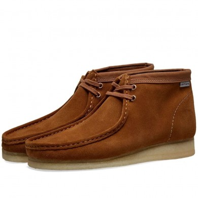 Clarks Originals x Carhartt Wallabee Boot Brown Combi