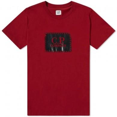 C.P. Company Stitch Block Logo Tee Scooter