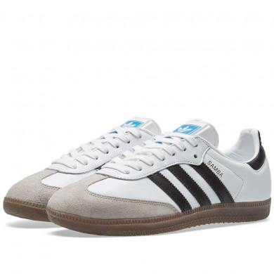 Adidas Samba OG White, Core Black & Granite