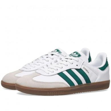 Adidas Samba OG White & Green B75680