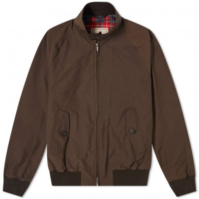 Baracuta G9 Harrington Jacket Chocolate