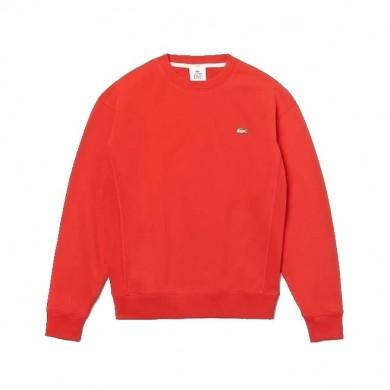 Lacoste Live Cotton Fleece Sweatshirt Red