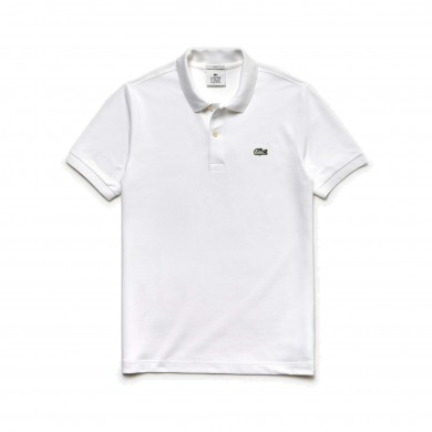 Lacoste Live Slim Fit Polo Shirt White
