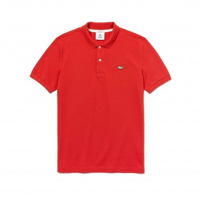 Lacoste Live Slim Fit Polo Shirt Red