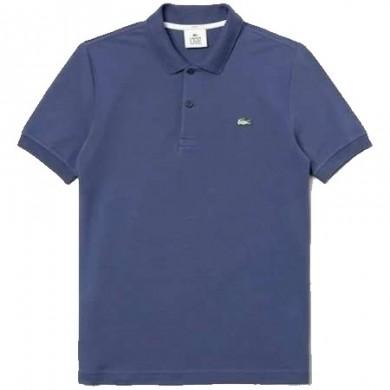Lacoste Live Slim Fit Polo Shirt Blue