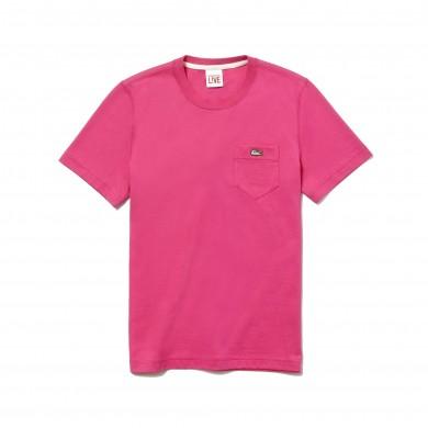 Lacoste Live Pocket Tee Rose Fushia