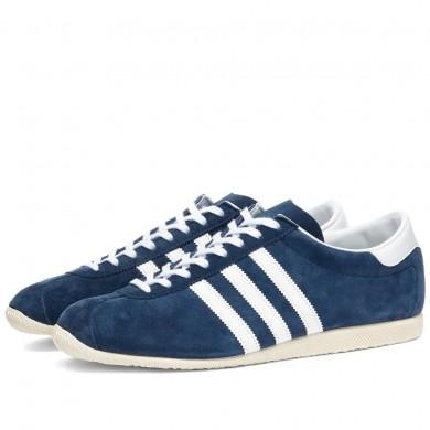 Adidas Rekord Collegiate Navy, White & Cream