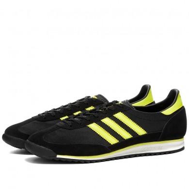 Adidas SL 72 OG Black, Acid Yellow & White