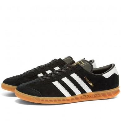 Adidas Hamburg Black, White & Gum