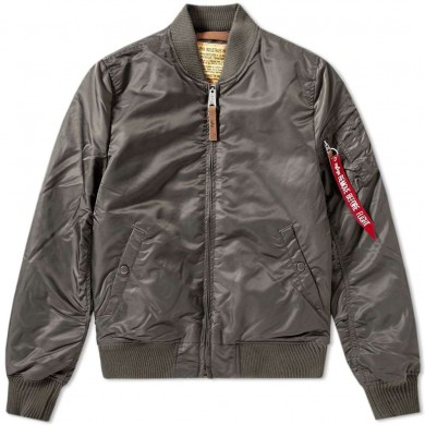 Alpha Industries MA-1 VF 59 Flight Jacket Replica Grey
