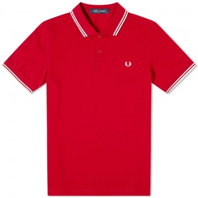 Fred Perry Slim Fit Twin Tipped Polo Siren