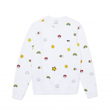 Lacoste x Friends With You Sweatshirt White