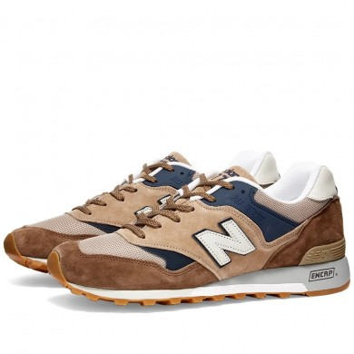 New Balance M577SDS - Made in England Sand, Brown & Blue