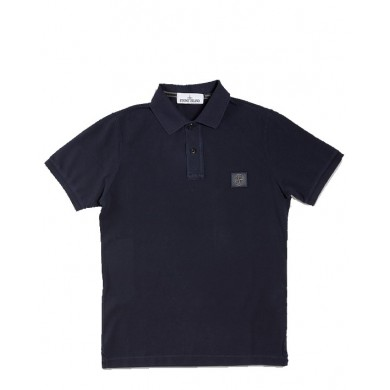 Stone Island 22S67 Pigment Dyed Polo Blue