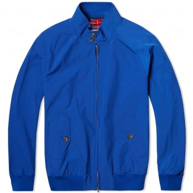 Baracuta G9 Harrington Jacket Royal Blue