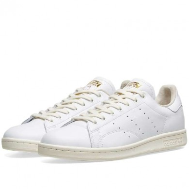 Adidas Stan Smith White, Off White & Green