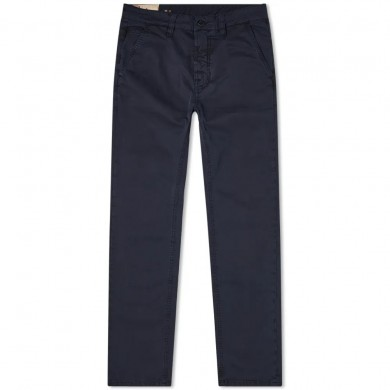Nudie Jeans Slim Adam Chino Dark Midnight L32