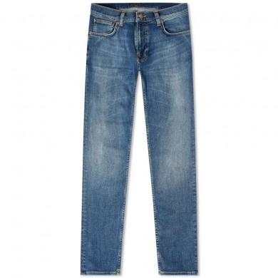 Nudie Jeans Tight Terry Steel Navy L32