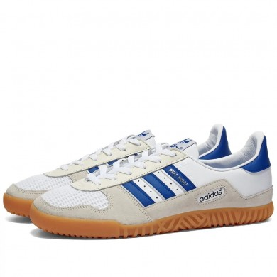 Adidas Indoor Comp White & Royal Blue