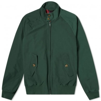 Baracuta G9 Harrington Jacket Racing Green