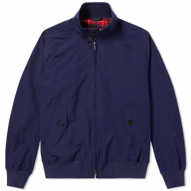 Baracuta G9 Harrington Jacket Indigo