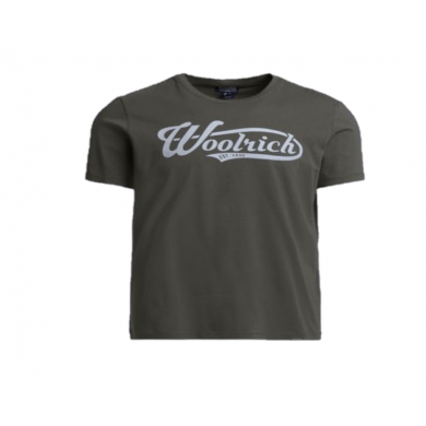 Woolrich Classic Logo Tee Grape Leaf A