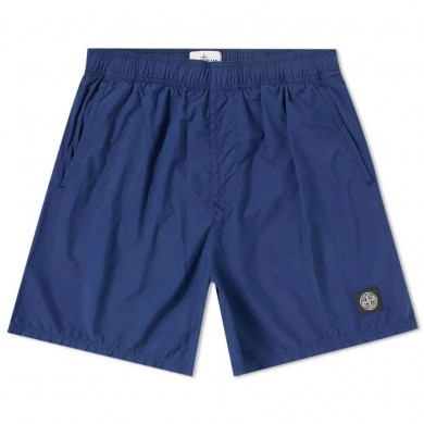 Stone Island B0946 Brushed Cotton Swimming Shorts Ink