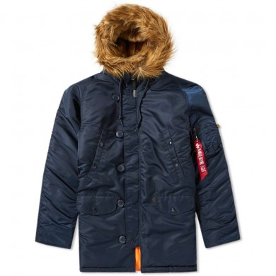 Alpha Industries N3B VF 59 Parka Rep. Blue