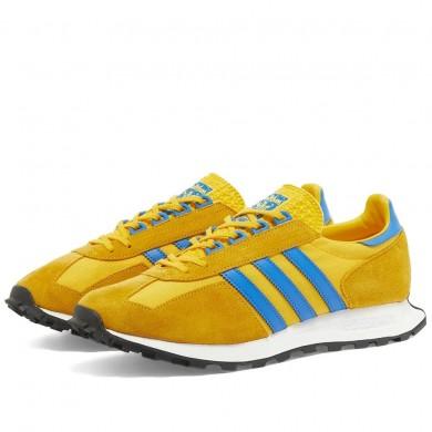 Adidas Racing 1 Gold & Blue