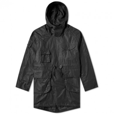Barbour x Engineered Garments Cowan Wax Jacket Black