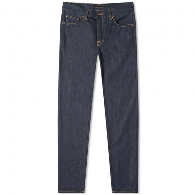 Nudie Jeans Gritty Jackson Dry Classic Navy L32