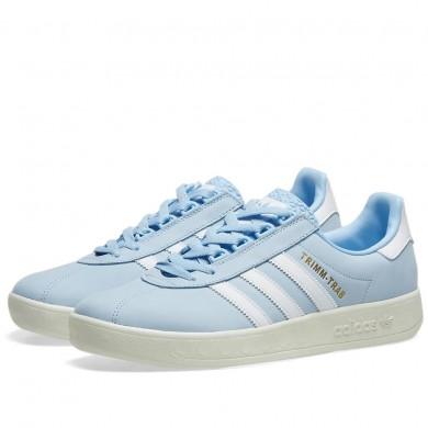 Adidas Trimm Trab Samstag Glow Blue, White & Cream