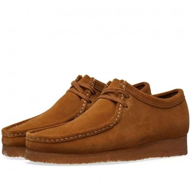 Clarks Originals Wallabee Cola Suede