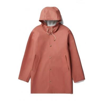 Stutterheim Stockholm Raincoat Rust