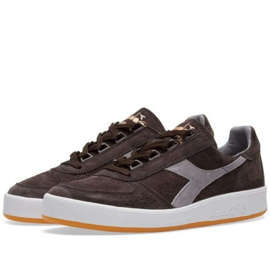 Diadora B.Elite Suede - Made in Italy Brown