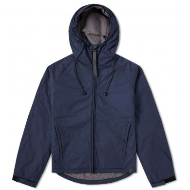 Nemen Insulating Hooded Jacket Navy