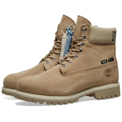 """Timberland x Wood Wood 6"""" Winter Extreme Boot Medium Beige Suede"""