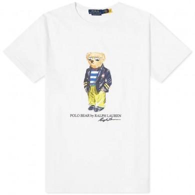 Polo Ralph Lauren Regatta Bear Tee White