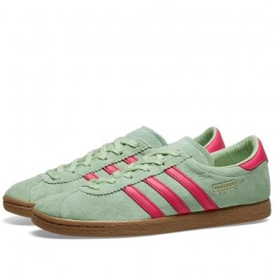 Adidas Stadt Glow Green, Pink & Gold