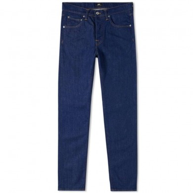 Edwin ED-55 Regular Tapered CS Power Blue Denim - Rinsed L32