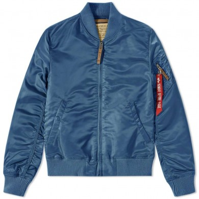 Alpha Industries MA-1 VF 59 Flight Jacket Bold Blue