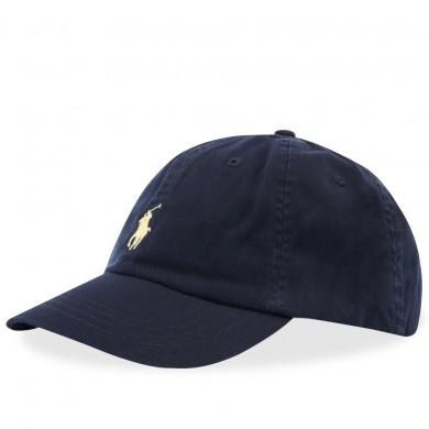 Polo Ralph Lauren Classic Baseball Relay Blue & Wicket Yellow
