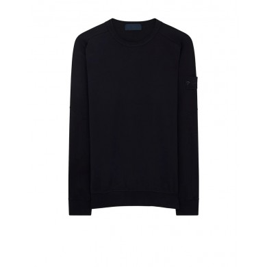 Stone Island 637F3 Ghost Sweatshirt Blue