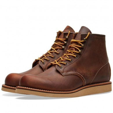 Red Wing 2950 Heritage Work Rover Boot Copper Rough & Tough
