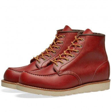 """Red Wing 8131 Heritage Work 6"""" Moc Toe Boot Oro-Russet Portage"""